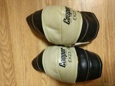 Rare Vintage Cooper Ice Hockey Elbow Pads Ek23 Genuine Leather made in Canada
