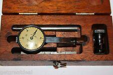 Brown Amp Sharpe Dial Indicator Vintage 001 Jeweled Kit Usa