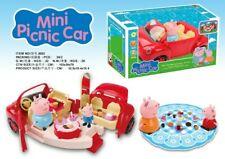 Peppa Pig Mini Picnic Car figures  Gift Kid Toy Children Characters Christmas