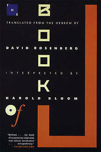 The Book of J by Harold Bloom, David Rosenberg (translator) #57791 U