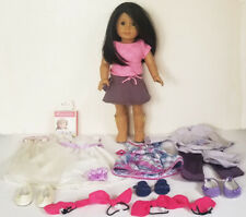AMERICAN GIRL JLY 42 ? doll & 4 OUTFIT Plaid Party FANCY OCCASSION True Spirit +