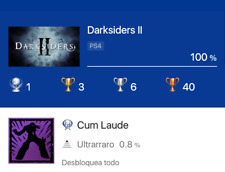 Darksiders II Deathinitive Edition PS4  Platinum Trophy Service