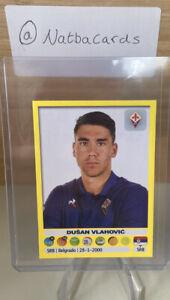 2018 Panini Calciatori Dusan Vlahovic Sticker #165 MINT Condition
