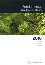 Fundamental Tax Legislation 2016 by Thomson Reuters (Paperback, 2016)