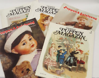 German Collector Magazines of Antique Doll /Puppen, Lot of 5  1989-1993