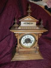Antique Germany, Junghans Victorian Mantel Clock Running w/key