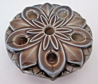 VINTAGE WADE CERAMIC CANDLE HOLDER - WATER LILY DESIGN FOR 6 CANDLES - DECOR