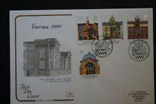 GB Europa 1990 Cotswold FDC FDI Edinburgh shs