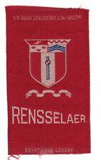 1910s S25 tobacco / cigarette / college silk Remsselaer