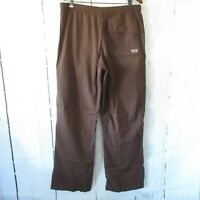 Be Present Wide Leg Yoga Pants XL X Large Brown Workout Athletic