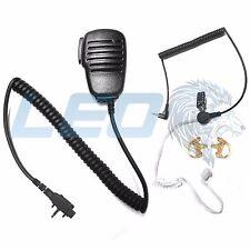Mic + 3.5mm Listen Only Earpiece + 2 Earmolds Vertex VX160 VX180 VX451 VX261