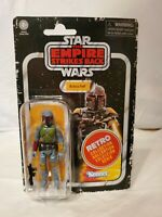 "Star Wars 3.75"" Retro Collection BOBA FETT Kenner Packaging New Sealed"