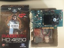 Scheda video agp ATI RADEON SAPPHIRE HD4650 512MB bundle