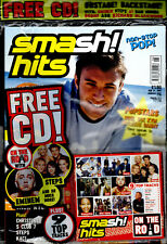 SMASH HITS 2001 KYM MARSH MYLEENE KLASS SUZANNE SHAW HEAR'SAY MEL B NICKY BYRNE