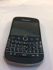 Incomplete - Blackberry 9900 - Unlocked - Black - Mobile phone - (Cracked)