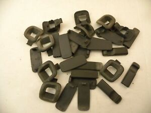 1996-2000 Chrysler Sebring Convertible Lot of Small Door Panel Parts (Dark Gray)