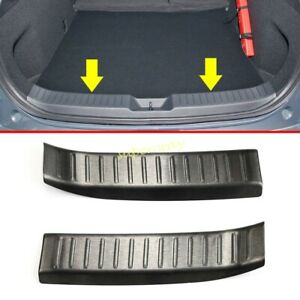 Steel Car Rear Inside Trunk Sill Protector Decor Overlay For Mazda CX30 DM 2020+