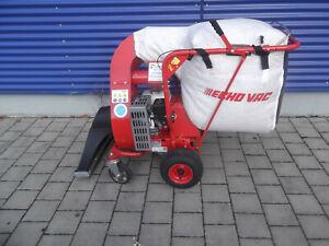 Fahrbarer Laub- und Abfallsauger Echo ES-400PIA-06