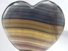 Fluorite Crystal Heart - FREE Shipping FAST Delivery US Seller, Superior Quality