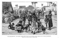 NILE EXPEDITION, THE GUARDS' CAMEL CORPS GOING TO DONGOLA, BUYING MILK, MAGREKAH