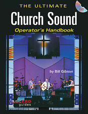 ULTIMATE CHURCH SOUND OPERATOR'S HANDBOOK BOOK DVD NEW