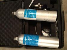 2 MSA Calibration Gas Kits 477149 with MSA 467895 Flow Control Valves
