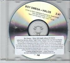 (CY469) Boy Omega, Halos - 2012 DJ CD
