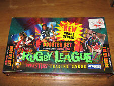 ✭ Sealed Box 1996 Ser. 1 ARL NRL RUGBY LEAGUE Dynamic Trading Card Booster Set ✭