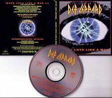 DEF LEPPARD Make Love Like Man Gatefold PROMO CD Single