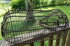 Antique Vintage Early Primitive Wire Cage Live Catch Mouse Rat Pest Rodent Trap