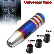 Universal Bride Burnt Blue Aluminum Car Gear Shift Lever Knob Stick Shifter 13CM