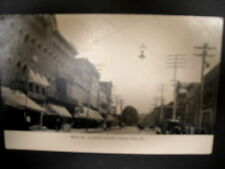 Union City, Pa, Main St to north, businesses named, B & W from photo, pre 1906