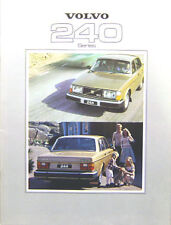Volvo 244 & 245 DL GL GLE 1978-79 Original UK Sales Brochure No. ASP/PV 6884-79
