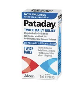 Pataday TWICE Daily Eye Allergy Itch & Redness Relief 5ml