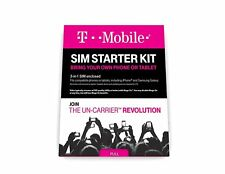 Low Cost High Performance T-Mobile Prepaid Complete Sim Starter Kit Bd