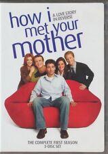 How I Met Your Mother - Season 1 (DVD, 2010, 3-Disc Set, Canadian)