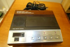 Radio Shack 1970s DUOFONE TAD-260 2-WAY Micro-Cassette Answering Calling Machine