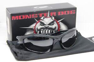 Oakley Monster Dog Crystal Black w/Black Iridium lens SKU 05-012