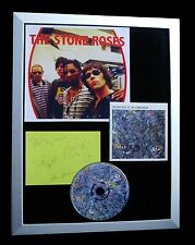 STONE ROSES+SIGNED+FRAMED+SALLY CINNAMON+DRUMS=100% AUTHENTIC+FAST GLOBAL SHIP