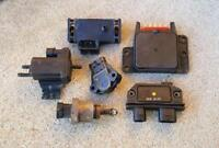 6PC CHEVROLET GMC C,K,R,V1500 2500 3500 PICKUPS TBI Sensor Set 1987-1990 TPS