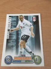 2007/2008 Danny Murphy Fulham Topps Match Attax Tarjeta temporada FCC FC centrocampista
