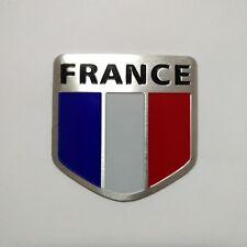 Car Decoration Aluminum alloy Emblem Badge of France Flag 3D Logo sticker NEW