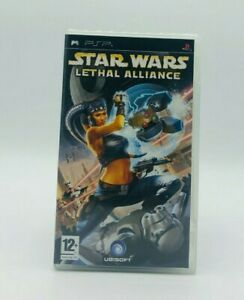 Star Wars Lethal Alliance - PSP - Complete in Box with Manual