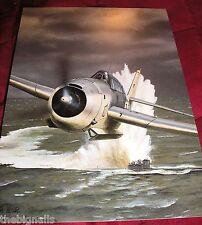 WWII Aircraft TBF-1 Avenger Large Postcard