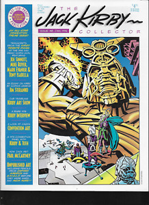 Jack Kirby Collector #8 TwoMorrows 1996 OOP