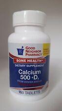 Gnp Calcium+d 500 Mg Tablet 160ct
