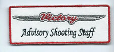 Victory advisory shooting staff patch 1-1/2 X 4 #977