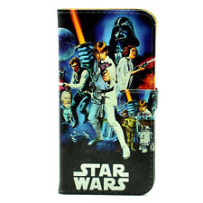 Star Wars A New Hope Vintage Leather Wallet Card Flip Stand Case For iphone 5 5S