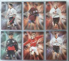 Futera Manchester United Future Stars Complete 6 Card Insert Set 1997