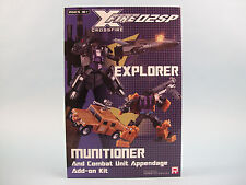 Crossfire X Fire 02SP Explorer / Munitioner Figure Add on Kit Fansproject